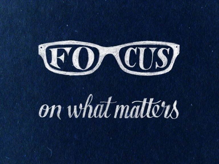 What Really Matters in this Life…